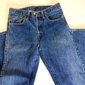 Levi's 501 Button Fly Jeans 31x30